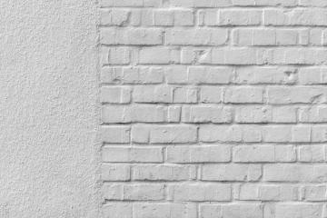 gestukte muur
