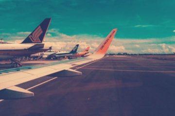 Parkeren bij een luchthaven