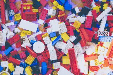 spelen met lego